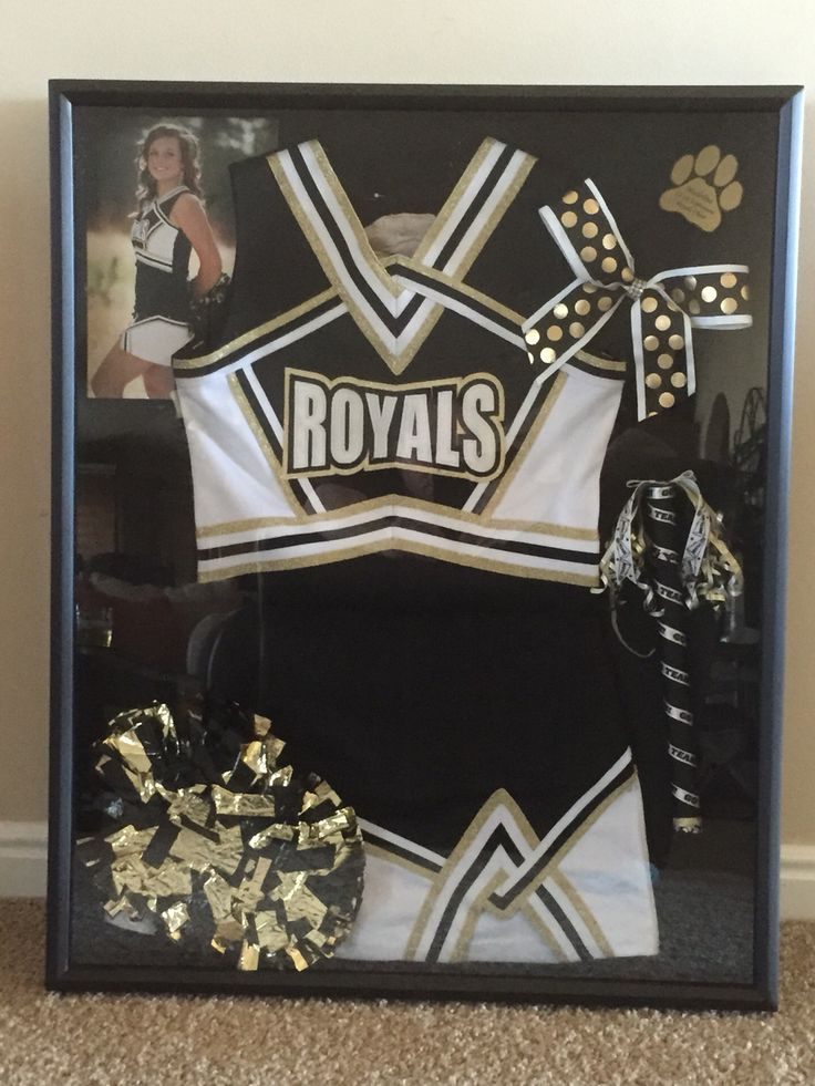 Cheer shadow box