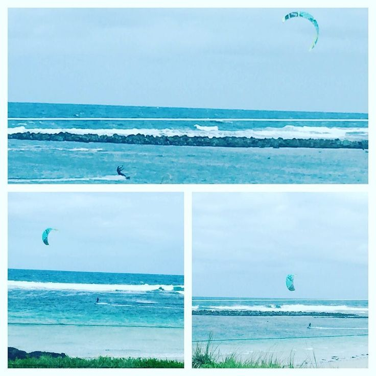 What a great way to spend a cold and windy day! #portfairy #portfairypics #portfairy2016 #3284 #visitportfairy #destinationportfairy #loveportfairy #sea #windsurfing #watersports by big4_portfairy