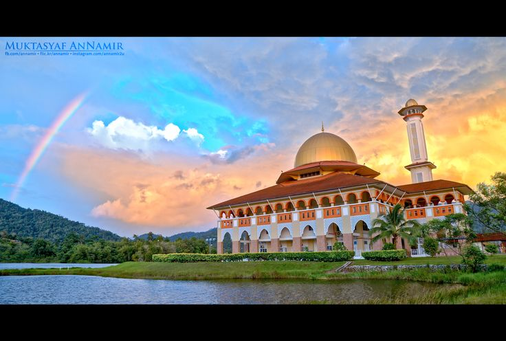 Ramadhan Kareem | HDR Landscape - Ramadhan Kareem to all Muslims all over the world :)  Dramatic moment during sunset at Masjid Darul Quran. I managed to shot it in triple exposure for HDR treatment. ----------------------------------------------------------  ©2016 Muktasyaf Ibrahim AnNamir™  Not to be used or reproduced without written permission.  ----------------------------------------------------------  Follow me at: http://fb.com/annamir  My official photostream…