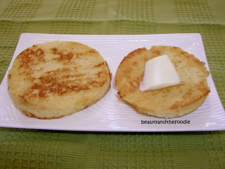 #paleo English Muffins: 1 Egg, beaten;   1 T Almond or Coconut Milk; 1 T Coconut Flour; 1 T Melted grass-Fed Butter, Ghee,  or Coconut Oil; ⅛ Tsp Baking Soda mixed with ¼ Tsp Apple Cider Vinegar (this replaces baking powder); ⅛ Tsp Vanilla Extract * optional, omit if preparing something savory like an egg sandwich; ¼ tsp Honey; 1 Pinch Sea Salt