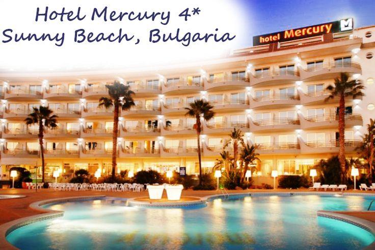 O oferta greu de refuzat pentru tine si familia ta! Hotel Mercury 4* – Sunny Beach, Bulgaria Cazare gratuita pentru un copil pana la 13.99 ani in camera dubla. Cazare gratuita pentru 2 copii pana la 13.99 ani in camera family room. http://goo.gl/6Qk3W8