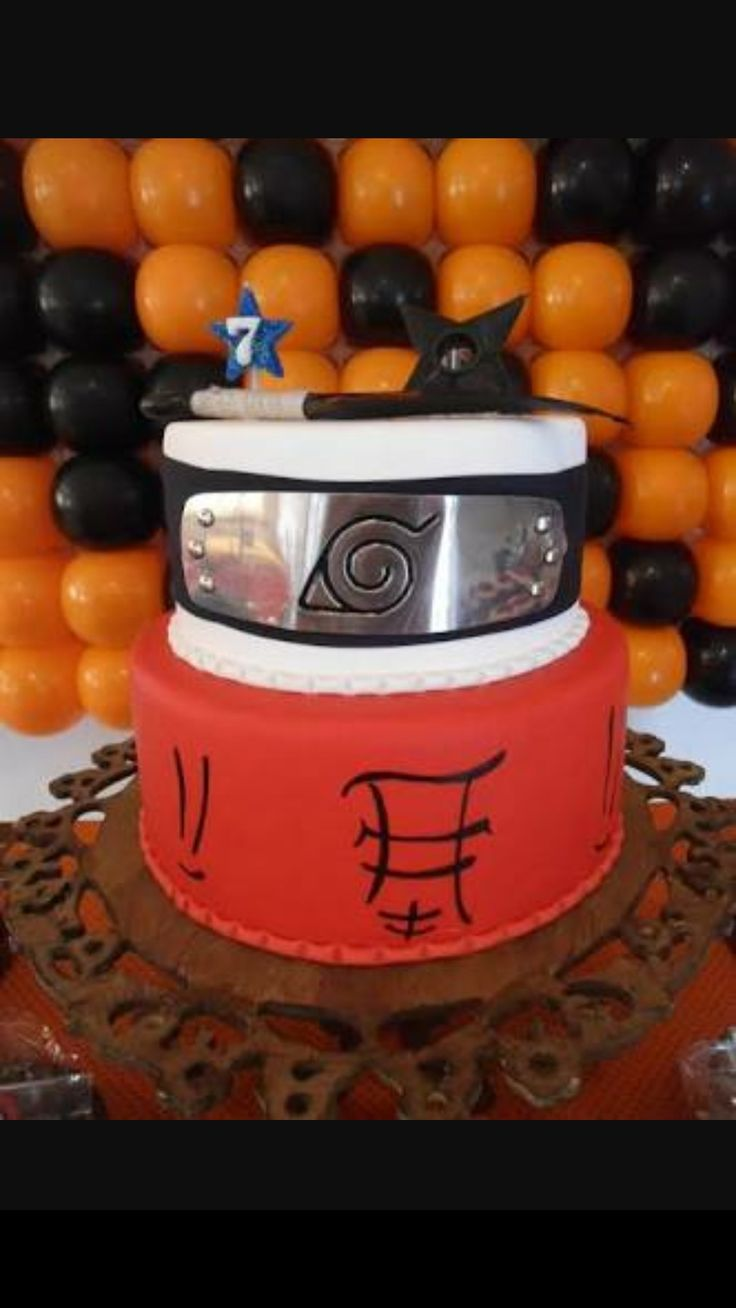17 Best Naruto Cake Ideas Images On Pinterest Cake Ideas