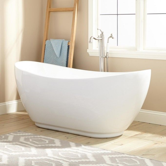 Banks Acrylic Freestanding Tub Nice Design