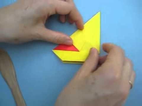 Origami Hen video Instructions