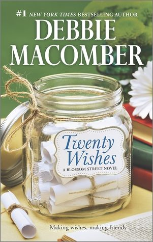Twenty Wishes by Debbie Macomber. A great book! I just finished it.