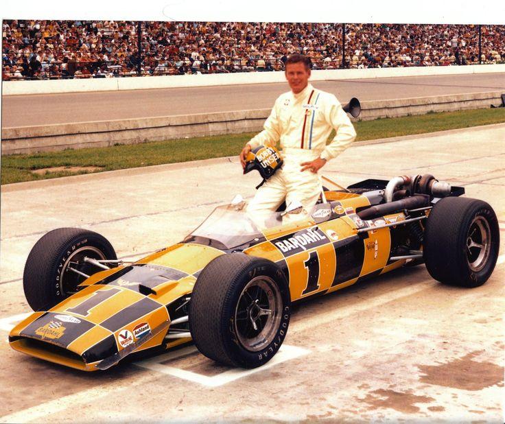 Bobby Unser - Bardahl Lola Offenhauser TC - Bob Wilke - International 500 Mile Sweepstakes 1969 - 1969 USAC National Championship, round 3