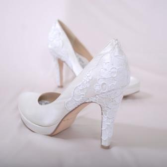 Свадебные белые туфли купить москва