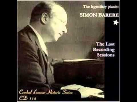 """Simon Barere plays Liszt """"Funérailles"""""""