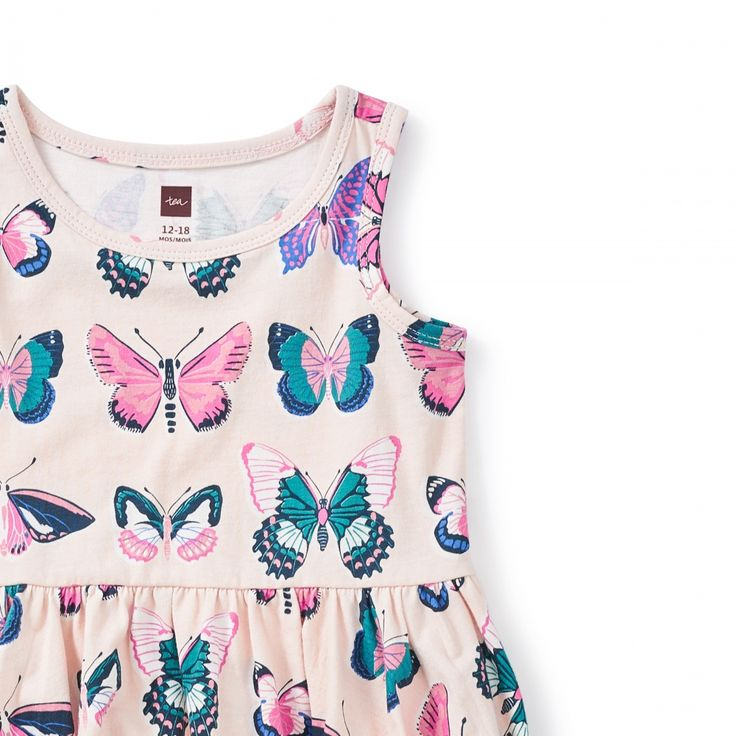 Locals Only Tank Baby Dress    | Australia is home to over 400 different species of butterflies! Some of those colorful creatures native to the continent are featured on this summery tank dress.