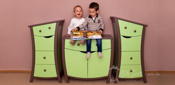 TiGeRi Kids Furniture Smiley Kids Dressers