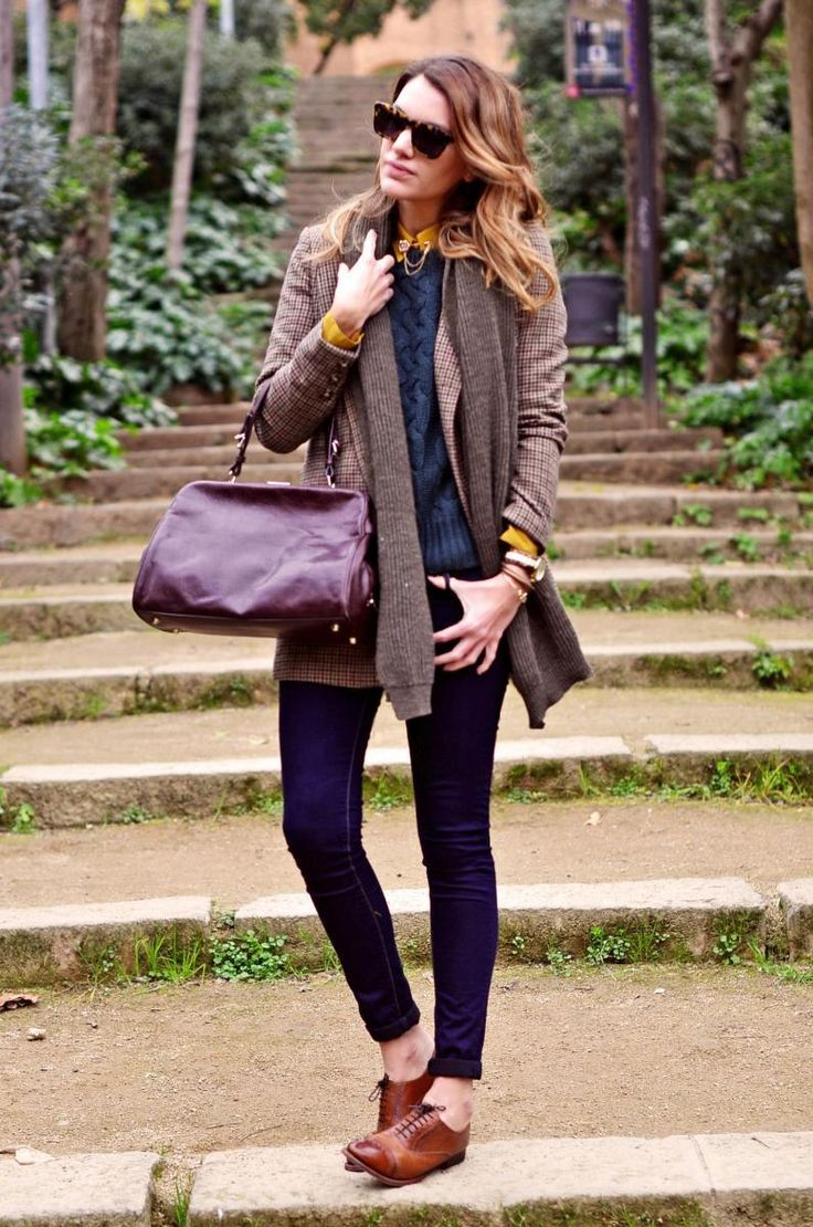 Skinnies and brogues