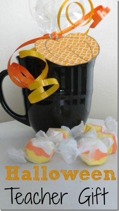 Halloween Teacher Gift Ideas. this is a fun and easy Halloween gift idea that is fun to make! http://quirkyinspired.com/halloween-teacher-gift-idea/