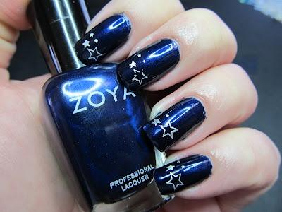 Zoya Ibiza - Dallas Cowboys nails