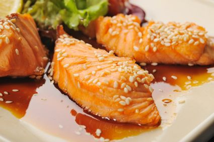 Honey Soy Glazed Salmon Fillets