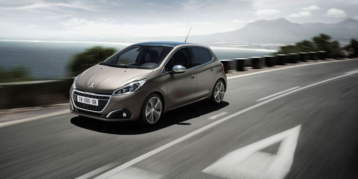 The new #Peugeot 208 with a new texture color: Ice Grey  #Peugeot