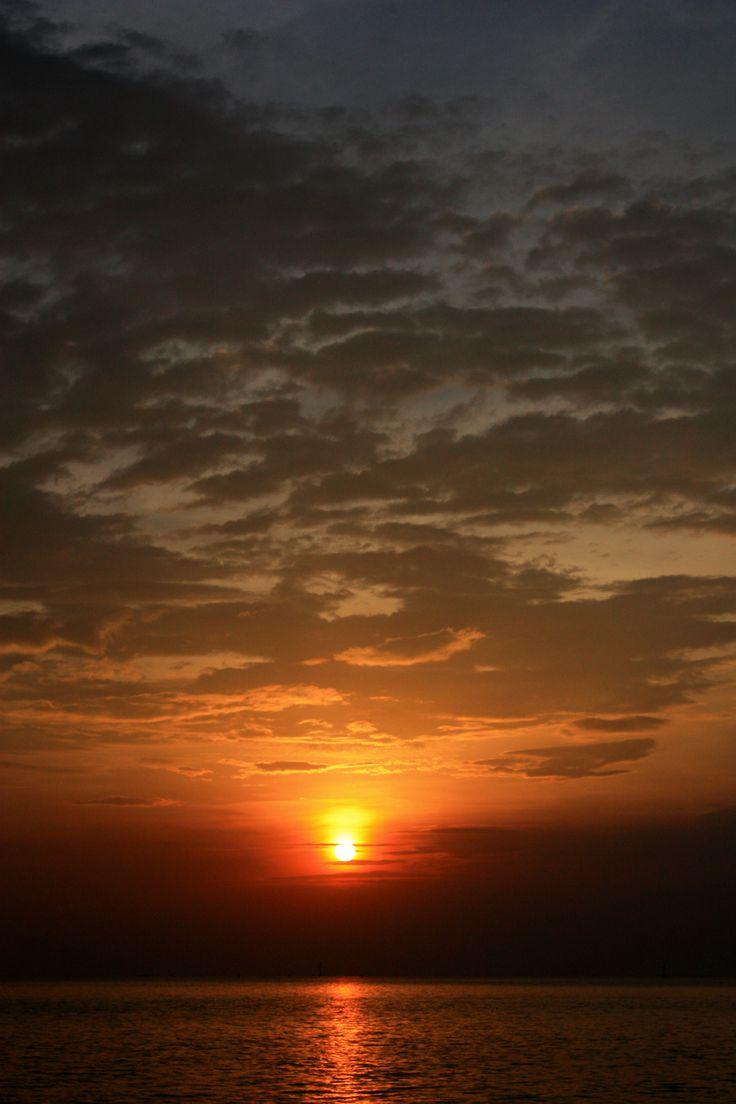 Sunset : Bangpu Recreation Center : Samutprakarn :Thailand