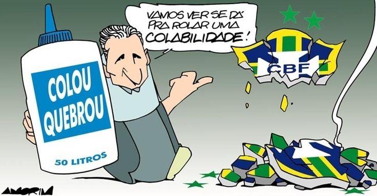 """Num bom """"titês"""" [como chamam o jeito de falar do técnico Tite], novo treinador vai precisar levar muita """"colabilidade"""" para a seleção brasileira de futebol"""