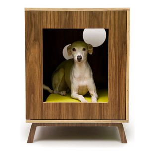 Midcentury Modern Doghouse/Side Table by Modernist Cat