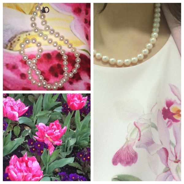 How to wear a pearl necklace: styles for spring – Tropica Pearls