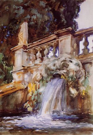 Villa Torlonia, Frascati  John Singer Sargent