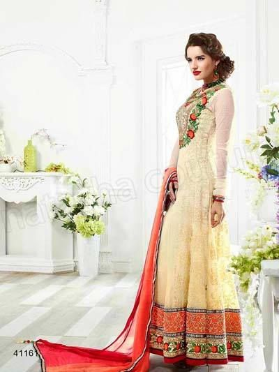 Latest Anarkali Suits Collection 2015-2016 Natasha Couture | StylesGap.com
