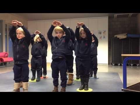 Peuterschrijfdans Jk4: de trap - YouTube