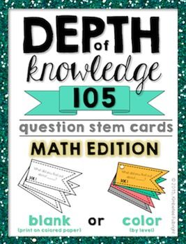 105 DOK Questions for Matj
