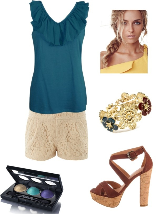 classy beach bum, created by chelly13 on Polyvore: Classy Beach, Wardrobes Piece, Beach Bum, Closets Demand, Dreams Closets