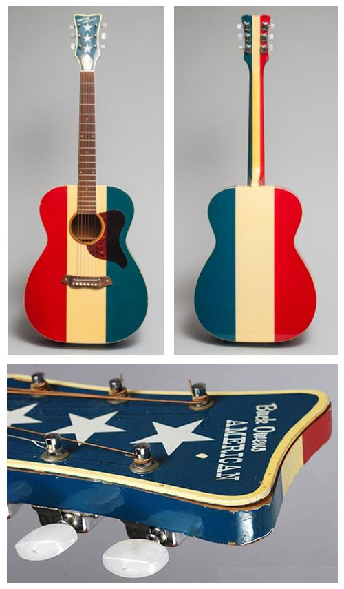Buck Owens Guitar | ... MTV Unplugged Buck Owens Red White & Blue American Acoustic Guitar