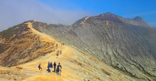 Ijen Crater near Banyuwangi, East Java