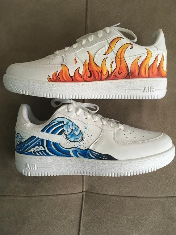 Custom Sneakers Nike Air Force Hand
