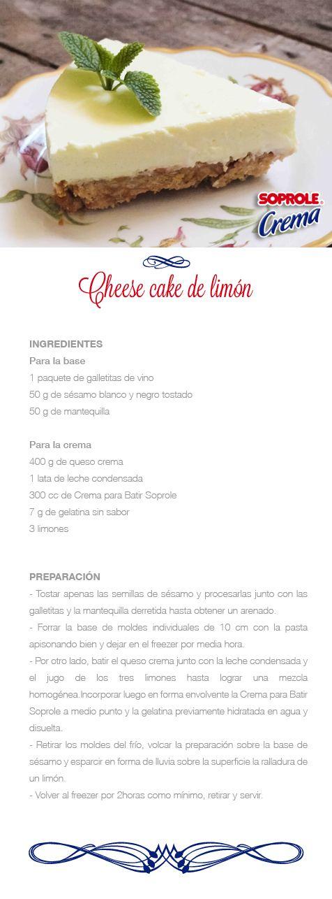 Cheese Cake de Limón