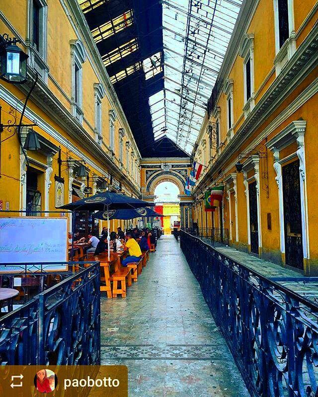 #Follow @paobotto: Pasaje Enríquez #Xela #Quetzaltenango #Guatemala #ILoveXela #AmoXela #Travel http://OkXela.com