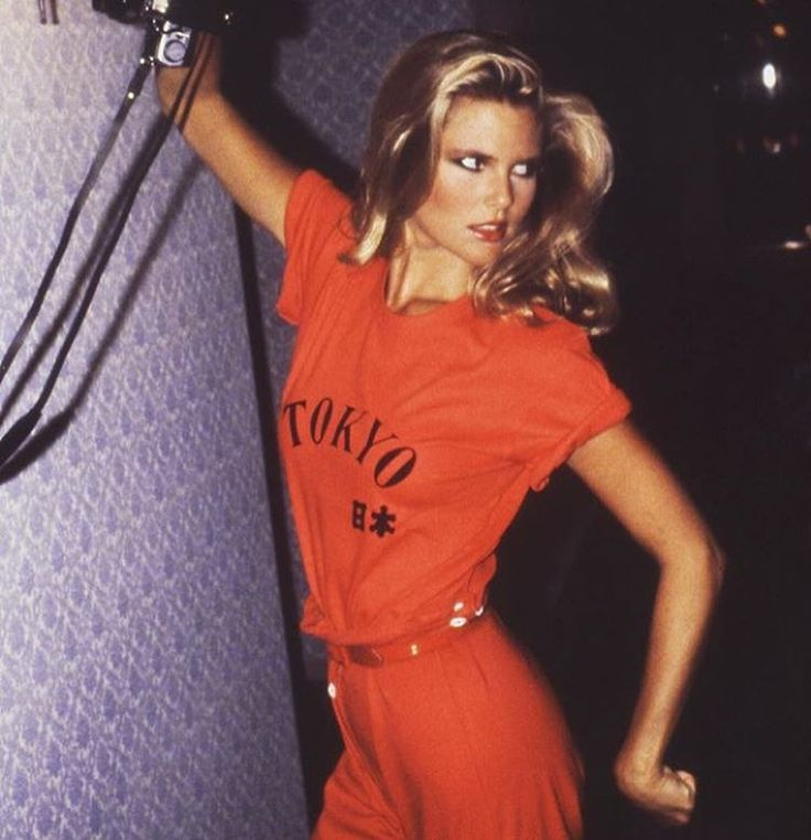 Christie Brinkley by Arthur Elgort