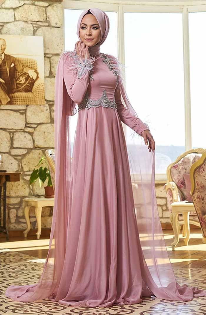 45322ca314eed Minel Aşk Tesettür Su Abiye Modelleri - Moda Tesettür Giyim ...