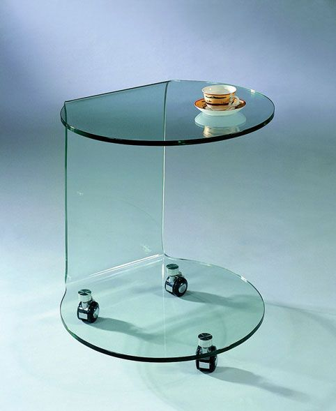 Modern End Table 032 C 032 GLASS END TABLE BY J FURNITURE Glass End Table