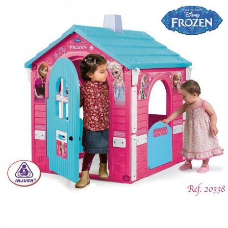 Jucarii de exterior :: Casute si spatii de joaca :: Casute pentru copii :: Casuta copii Frozen Injusa