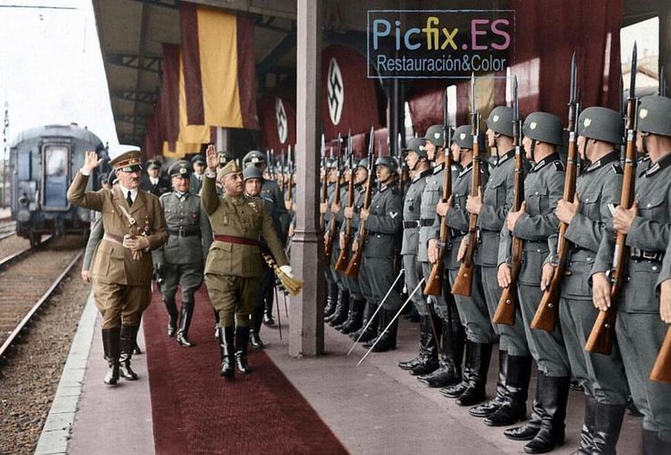 """635 Likes, 4 Comments - WW2 Historian (@the_history_of_ww2) on Instagram: """"Picture credit: @abhi_223 This amazing Colorization was done By: @picfix_es //…"""""""