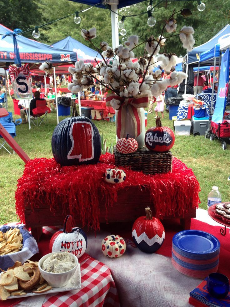 best tailgate decorations - Google Search & 171 best tailgate ideas for Ole MIss images on Pinterest | Birthdays ...