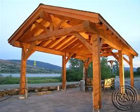 17 Best Images About Outdoor Patio Shelter Large Beam On