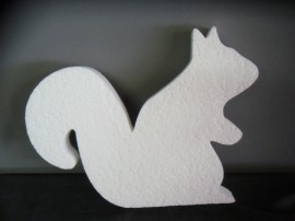 Great squirrel outline!