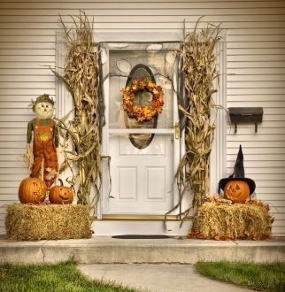 share the harvest vinyl for walls and windows for fall holiday decor - Halloween And Fall Decorations