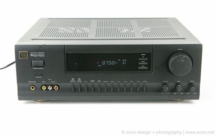 JBL 5.1 Channel Home Theater A/V Receiver Model JSR-400 Works & Sounds Great! #JBL