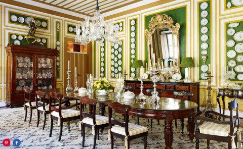 Localizada em uma fazenda de café de 1865, a casa em Campinas mantém as características da arquitetura colonial portuguesa