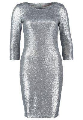 Sukienka koktajlowa silver / sequin sequins dress