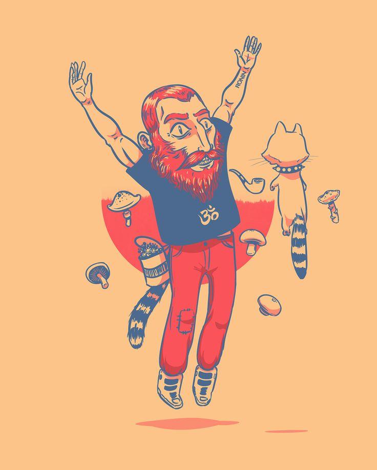 Freehand illustration
