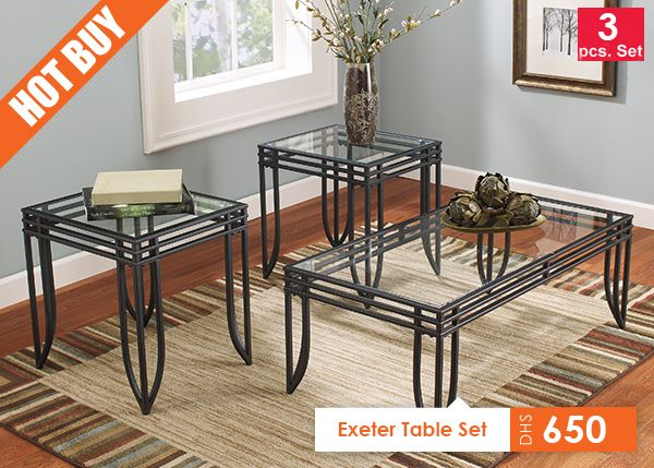 get your exeter occasional table set set of at shop furniture 4 u waukegan il furniture store