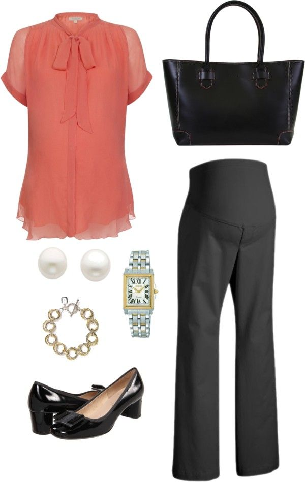 """Maternity Workwear: 9 to 5"" by howhauteisthat on Polyvore"
