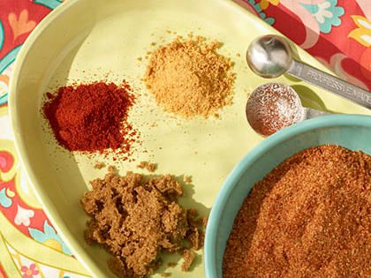 Pork Butt Dry Rub   Make this spiced pork butt rub from Chris Lilly of Big Bob Gibson's Bar-B-Q your go-to seasoning for all your barbecued pork. Go ahead and triple the recipe and store it in an airtight container so you'll always have some on hand.