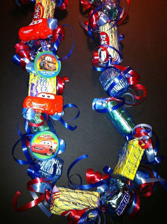 Children's Cars Birthday Theme Candy Lei by IslandCandyLeis, $10.00